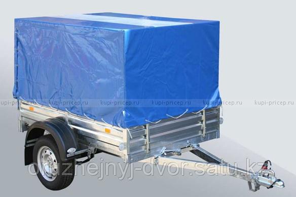 Прицеп автомоб МЗСА 817710.001-05 (кузов:1853х1231х290) с высоким тентом