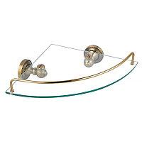 Полка Fixsen Antik FX-61103А стеклянная угловая