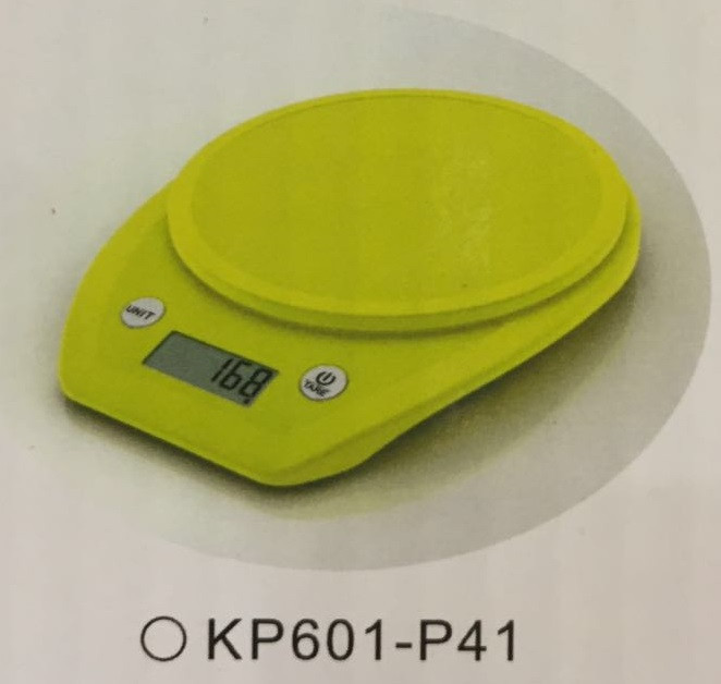 Весы кухонные  Electronic Kitchen Scale - KP601 Светло-зелёный КР601-Р41