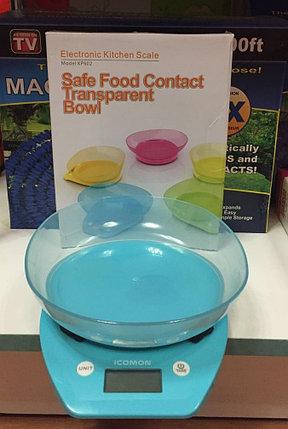 Весы кухонные  Electronic Kitchen Scale (разные цвета) Голубой цвет (Blue), фото 2