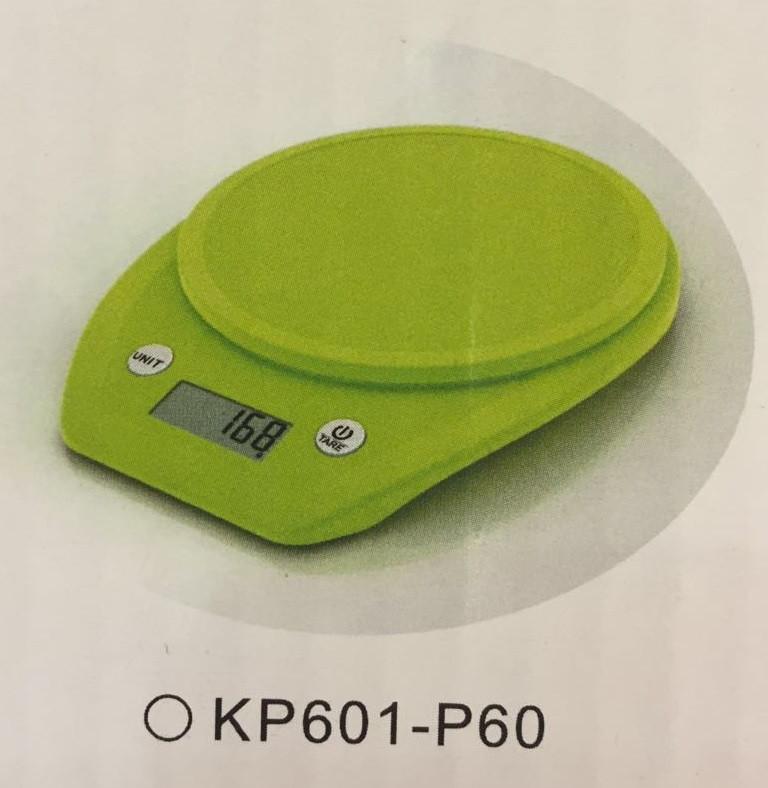Весы кухонные  Electronic Kitchen Scale - KP601 Зелёные КР601-Р60