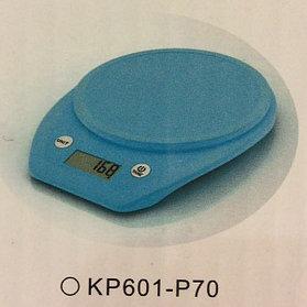 Весы кухонные  Electronic Kitchen Scale - KP601 Голубые КР601-Р70
