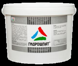Гидрошпат - гидроизоляционная шпатлевка