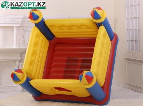 Надувной детский игровой центр-батут «ЗАМОК» intex  , фото 2