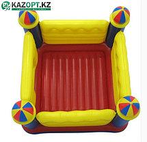 Надувной детский игровой центр-батут «ЗАМОК» intex  , фото 3