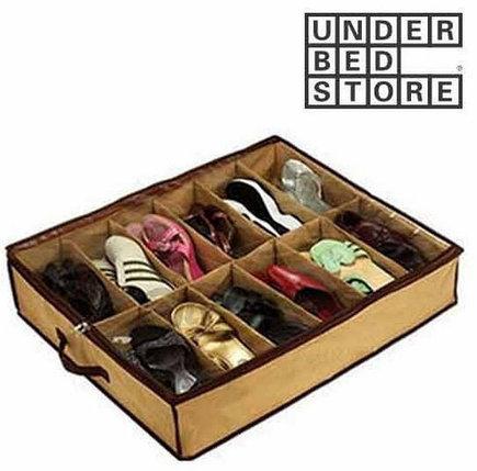 Чемодан органайзер для обуви твердый Shoes Under (12) , фото 2
