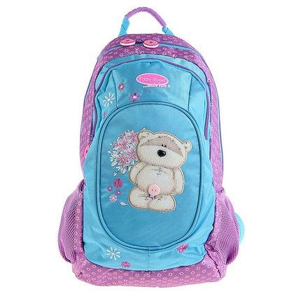 Рюкзак школьный Fizzy Moon 40*29*15 усиленная спинка, для девочки, сиреневый, фото 2