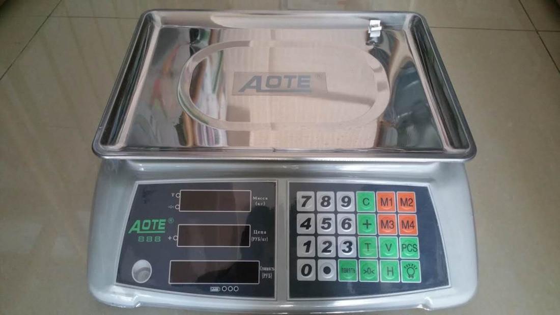 """Весы торговые, настольные """"Aote 888"""" до 50 кг"""