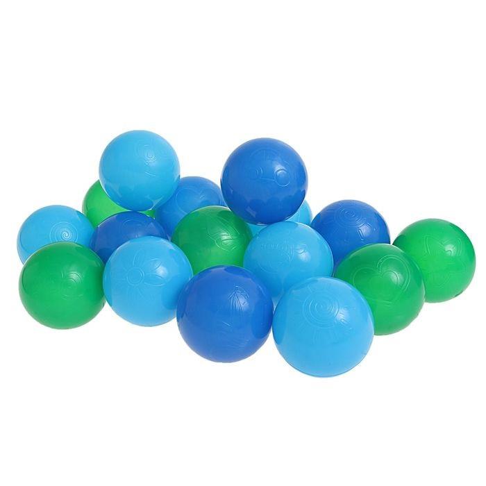 "Шарики для сухого бассейна с рисунком, диаметр шара 7,5 см, набор 30 шт Шарики для сухого бассейна ""Морские"" с рисунком, диаметр шара 7,5 см, набор 30"