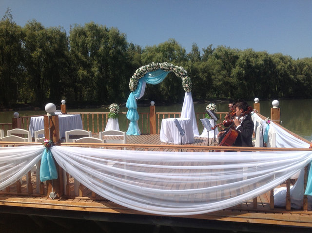 Арка, шатер для регистрации. Оформление  выездной церемонии регистрации в Алматы. 13