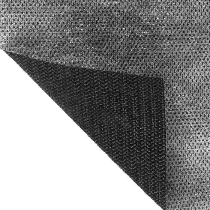 Материал укрывной 5×1,6 м, плотность 80 г/м2, цвет бело-чёрный