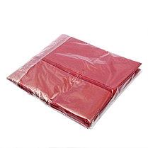 Чехол для одежды спанбонд, с окном 60х120 см, цвет бордо, фото 3