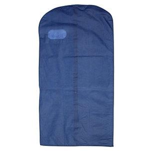 Чехол для одежды спанбонд, с окном 60х120 см, цвет синий, фото 2