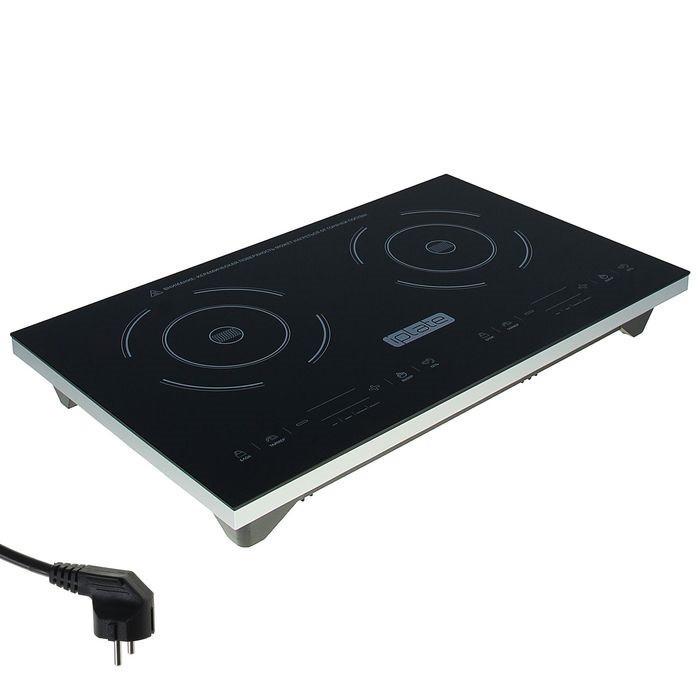 Индукционная плита iplate YZ-C20, 2 конфорки, 3100 Вт., электронное управление, дисплей
