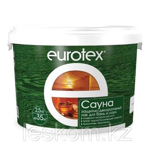 Евротекс сауна лак для бани и сауны