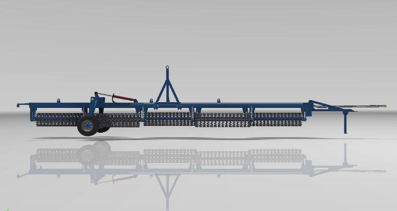 Катки кольчато-шпоровые типа ККШ-12,4