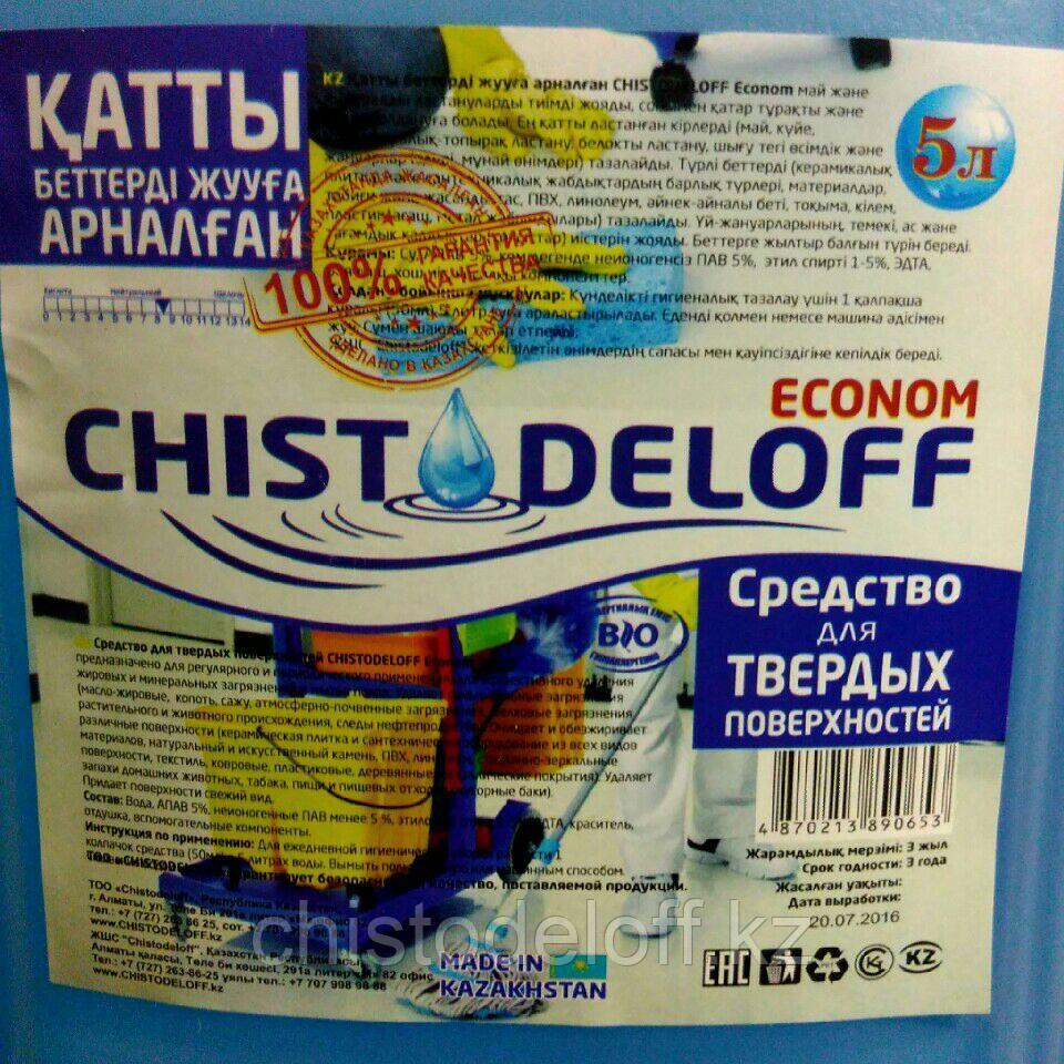 Универсальное моющее средство CHISTODELOFF Econom 5 л.