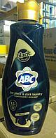 Жидкий стиральный порошок ABC автомат, 1.5 л (Для черного)