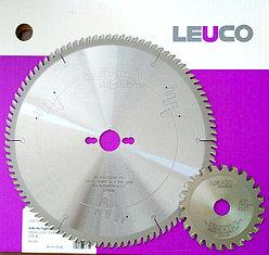 Leuco комплект Основная пила + подрезная для распила ЛДСП