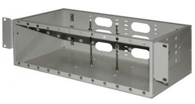 ШКО-С-3U 96  Пустая коробка в комплекте с клипсой-заклепкой (24шт) и пластиковым хомутом (2шт)