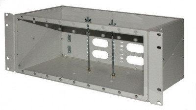 ШКО-С-4U Пустая коробка в комплекте с клипсой-заклепкой (18шт) и пл хомутом (2шт), фото 2