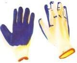 """Перчатки с полимерным покрытием """"краска"""""""