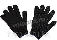 Перчатки с ПВХ черные, белые