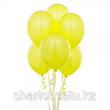 Желтые шары 25см