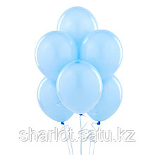 Голубые шары 25см