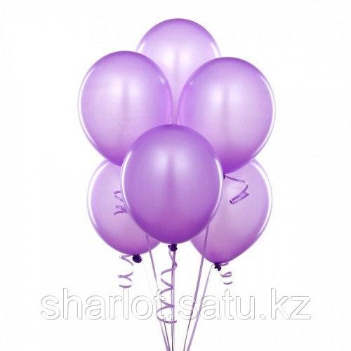 Фиолетовые шары 25см