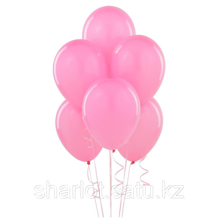 Розовые шары 25см