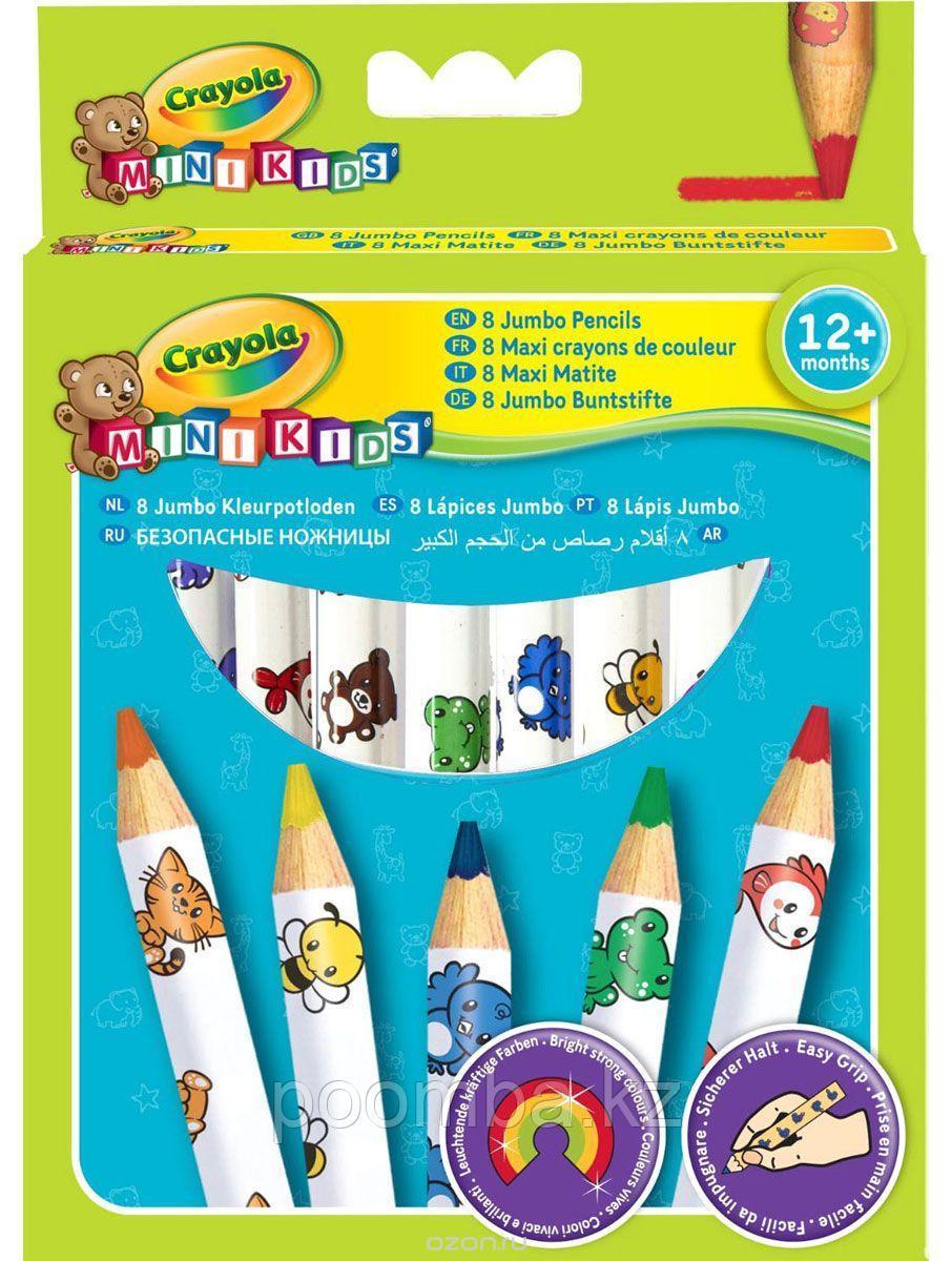 Цветные карандаши 8 цветов