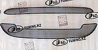 Защита радиатора Сетка Калина 2 (2 части), фото 1