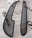 Защита радиатора Сетка Калина 2 (2 части), фото 2