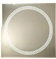 """Зеркало """"Континент"""" Византия люкс 700х700х35"""
