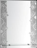 "Зеркало ""Континент"" КАМЕЛИЯ 535х680"