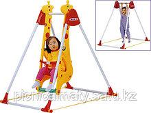 Качели Жираф для одного ребенка Haenim Toys DS-707