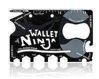 Мультитул-кредитка WALLET NINJA 18 в 1