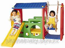 Игровой комплекс с качелями Haenim Toy DS-703