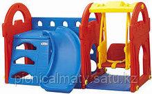 Игровой центр с горкой и качелями Haenim toys HN-709