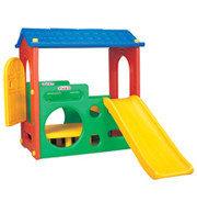 Детская Горка с крышей Haenim Toys DS 704