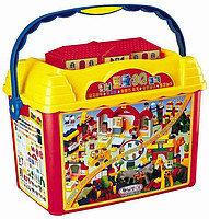 """Конструктор в контейнере """"Животный мир"""" Haenim Toys HN-913"""