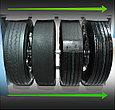 Основные этапы восстановления грузовых шин
