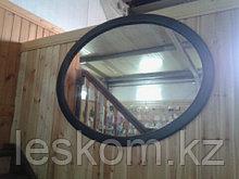Зеркало в деревянном обрамлении