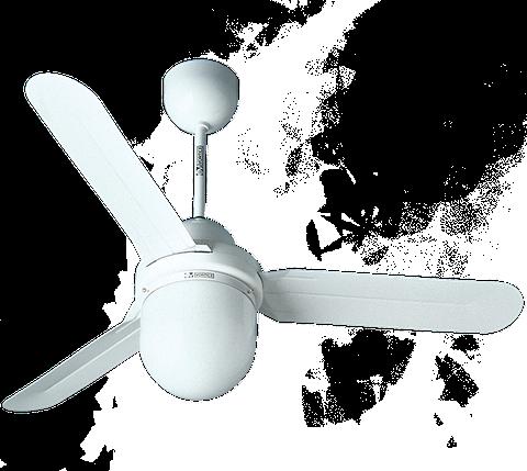 Потолочные вентиляторы со светильником NORDIK DESIGN 1S/L 160/60, фото 2