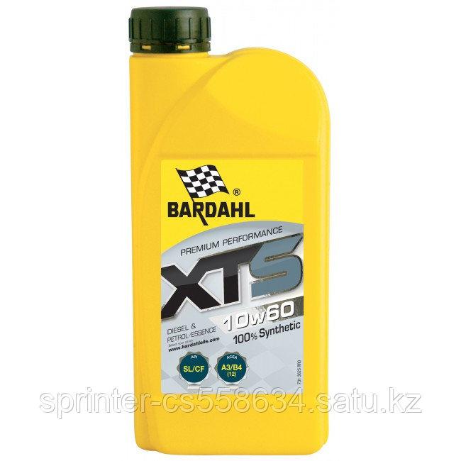 Моторное масло Bardahl  XTS 10W60 1 литр