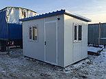 Контейнер 40ф под 9 душевых (модульные здание под душевую), фото 2