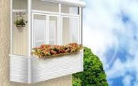Установка пластиковых балконов