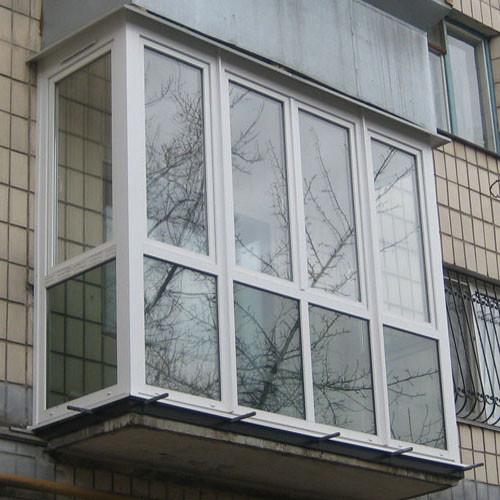 Установка балконов и лоджий, остекление балконов и лоджий