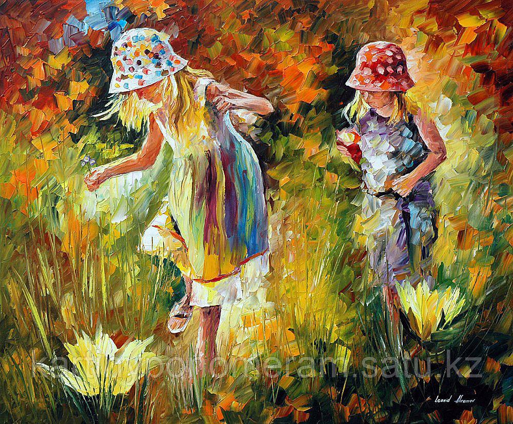 """Картина по номерам """"Сестры.Л.Афремов"""""""